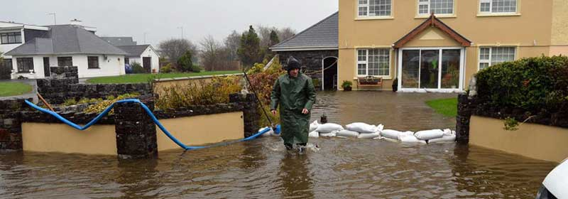 Northern Ireland Floods Houses flooded and homeowners homeless React Ireland Limited 24 Hr Emergency Response
